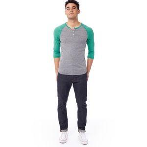 Alternative Apparel Eco-Jersey Raglan Shirt